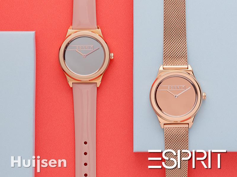 horloge_ESPRIT_oorbellen_juwelierzevenaar.nl_juwelier Huijsen_Zevenaar_Liemers_Gelderland